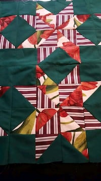 Queen handmade Quilts & matching Pillow Shams 3136 km