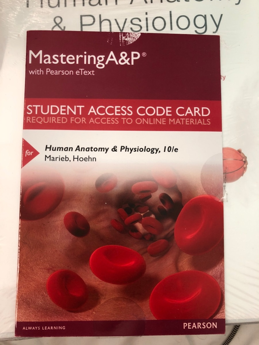 Tolle Pearson Human Anatomy And Physiology 9th Edition Access Code ...