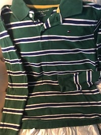Tommy Hilfigure, boy's full sleeves top, size 8  Mississauga, L5L 2S5