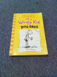 Diary of a Wimpy Kid Dog Days by Jeff Kinney book St. Augustine, 32080