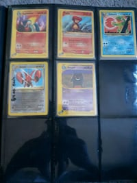 Pokemon cards WOTC 1995 $4.00 each Thornton
