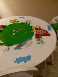 Kids table & 2 chairs Port Coquitlam, V3C 1K2