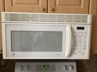 white General Electric microwave oven Strasburg, 22657