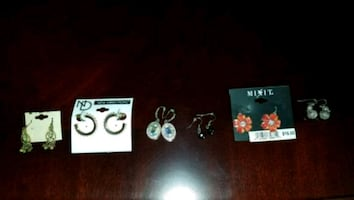 Earrings $3 each or the lot for $15