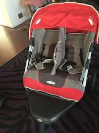 baby's black and red Chicco stroller Silver Spring, 20901