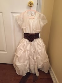Ivory coloured flower girl dress Vaughan, L6A