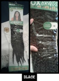 Synthetic hair extentions