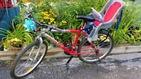 Bike with kid chair included. Dorval, H9S 5K2