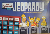 Simpsons Jeopardy Board Game