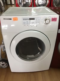 Samsung white gas dryer  Woodbridge, 22191