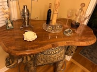Marble top elephant bar with matching coffee table Vaughan, L4H 2N3