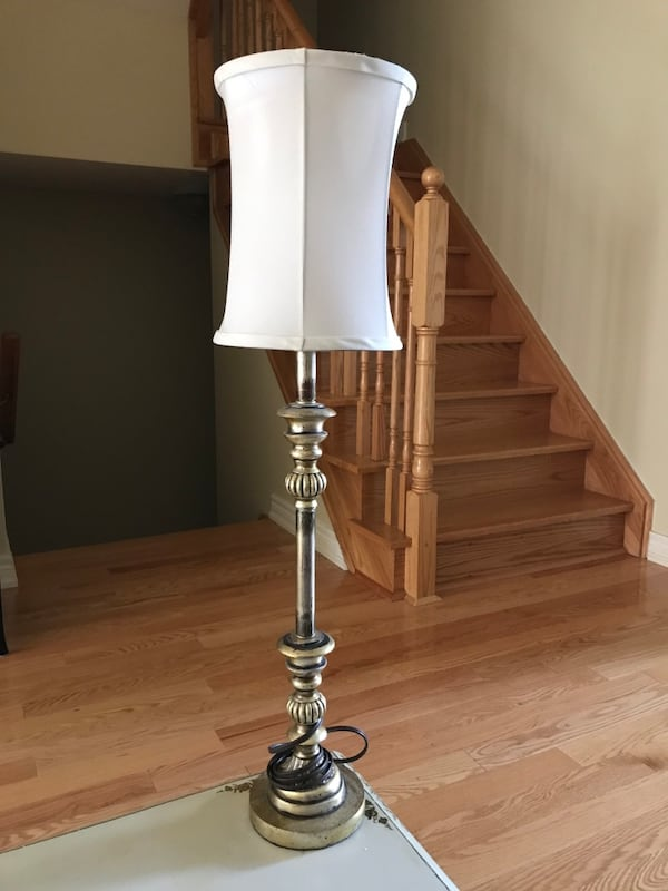 Used Tall Skinny Lamp For In