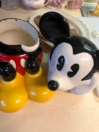 Vintage cookie jar Mickey Mouse