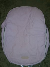 J.J. Cole Car Seat Cover in Pink PECK SLIP, 10038