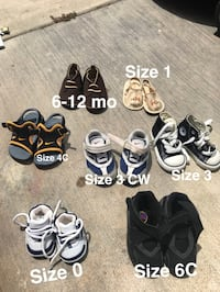 Seven pairs of assorted shoes Corona, 92879