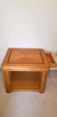 Two (2) Wood End Tables Fairfax, 22033