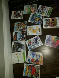 Nintendo Wii games (5$ each) Winnipeg, R2K 2M2