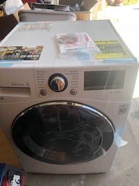 "LG 2.3 cu. ft. Capacity 24"" Compact Front Load Washer with NFC Tag On - White La Mirada, 90638"