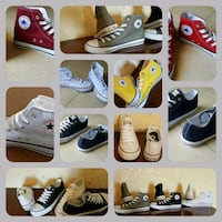 collage di scarpe Converse All-Star assortite Monteviale, 36050