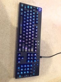 Logitech mechanical gaming keyboard