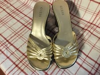 Guess shoes gold