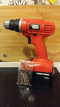 BLACK. & DECKER Drill./ Driver,  No Charger  Toronto, M6B 1K1