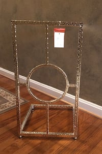 Silver and glass side table Harpers Ferry, 25425