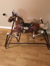 Vintage Jumping horse