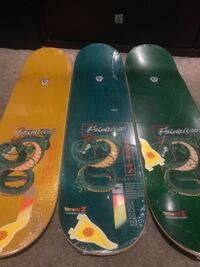 Primitive dragon ball z skateboard decks limited stock sold out Anaheim, 92806