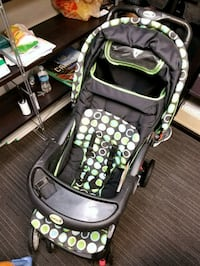 baby's black and green stroller Sherwood Park, T8A 4H4