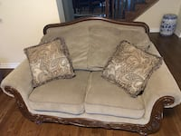 gray and black fabric sofa Milton, L9E