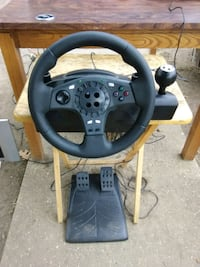 Logitech racing wheel for PS4