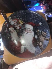 Santa Dessert Plate and Serving Scoop Toronto, M9W 3W7