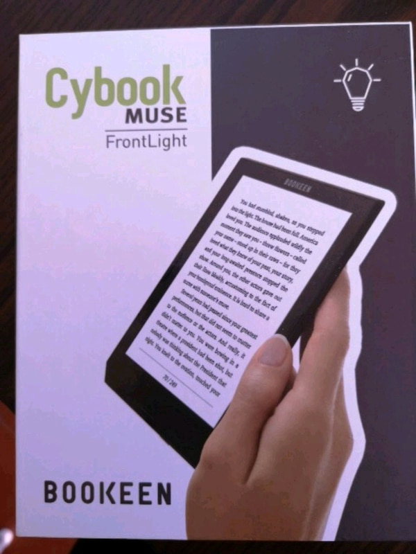 Cybook Muse FrontLight HD Bookeen