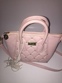 Luv Betsey  by Betsey Johnson collection small pink crossbody Laurel, 20723