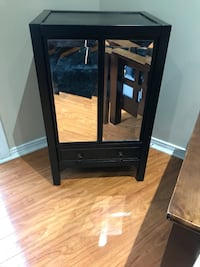 BOMBAY CO. Accent cabinet mirrored  Pickering, L1V 5A2