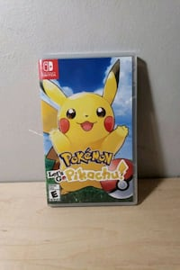 Nintendo switch-Pokemon let's go pikachu