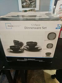 Brand new never used plate set