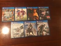 7 PS4 Games Arlington