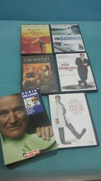 Sıfır Robin Williams dvd film seti 5 adet Ankara