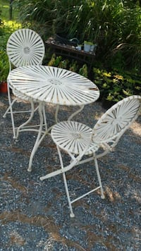 Cute Metal Patio Set