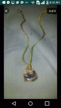Handcrafted healing gem and shell necklaces Las Vegas, 89122