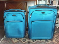 two blue soft-side luggage Coraopolis, 15108