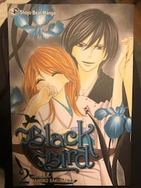 Black bird manga volumes 1-5 author kanoko sakurakouji