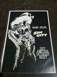 Frank Miller Sin City comic book