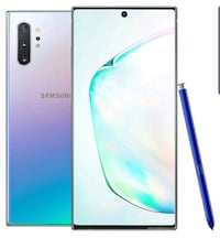 Note 10+ 256gb brand new with screen protector and case only a weekold