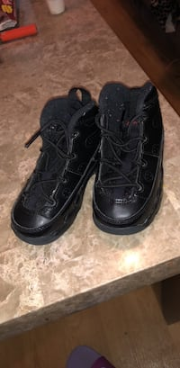 All black Jordan 9s size 7c  New York, 11219