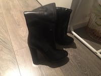 Aldo knee high boots. Black. Size 6. Toronto, M5B 2B7