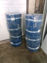 8 rolls of 8in plastic hose commercial grade Lansdowne, 21227