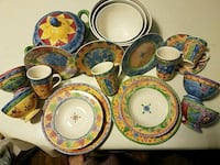 Stoneware designer dishes Service 8 Brooklyn, 11230